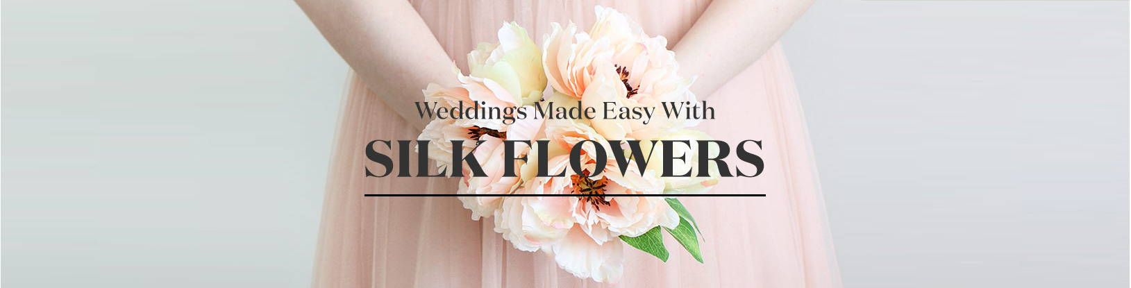 Weddings Made Easy With Artificial Flowers