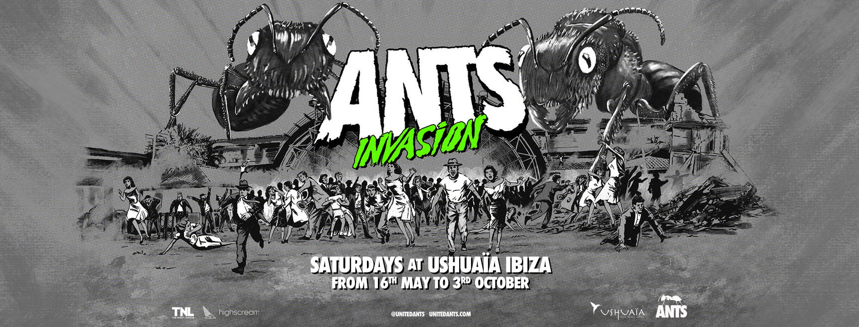 ANTS 2020 comes back to saturday in Ushuaia Ibiza, tickets ANTS 2020