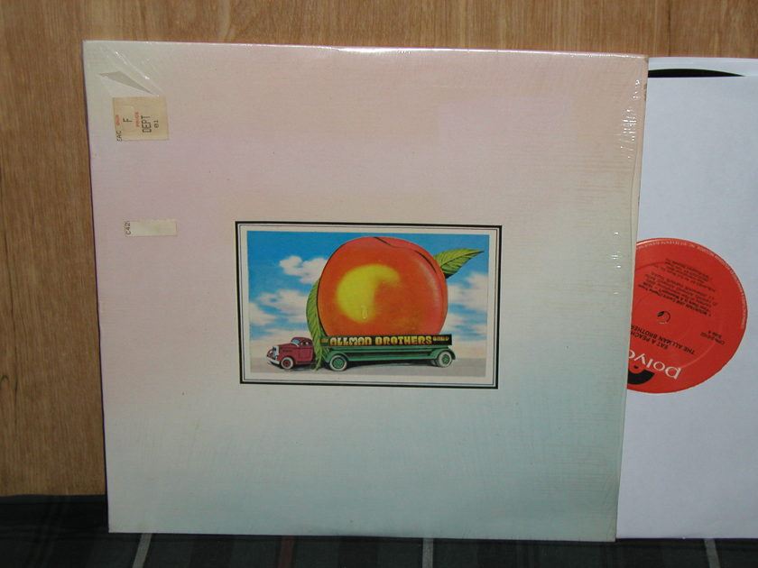 Allman Brothers - Eat A Peach Still in Shrink 2 LP set Unopened Cover Capricorn/Polydor