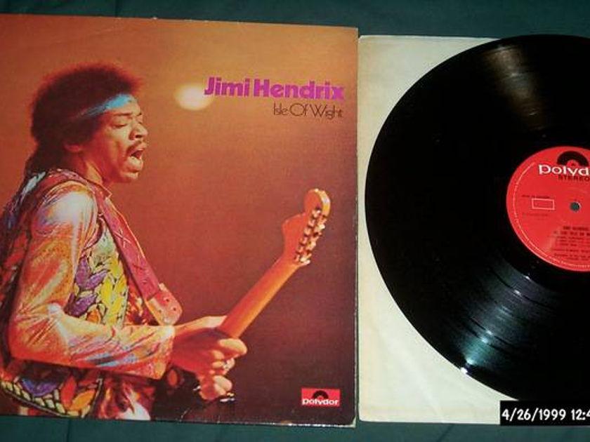 Jimi Hendrix - Polydor UK Lp isle of wight nm