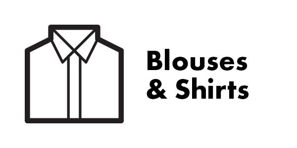 Works on Shirts and Blouses