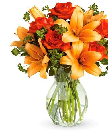HF Sunset Fall Bouquet