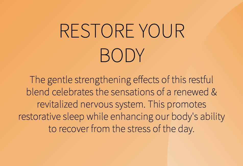 restore your body with aneu night