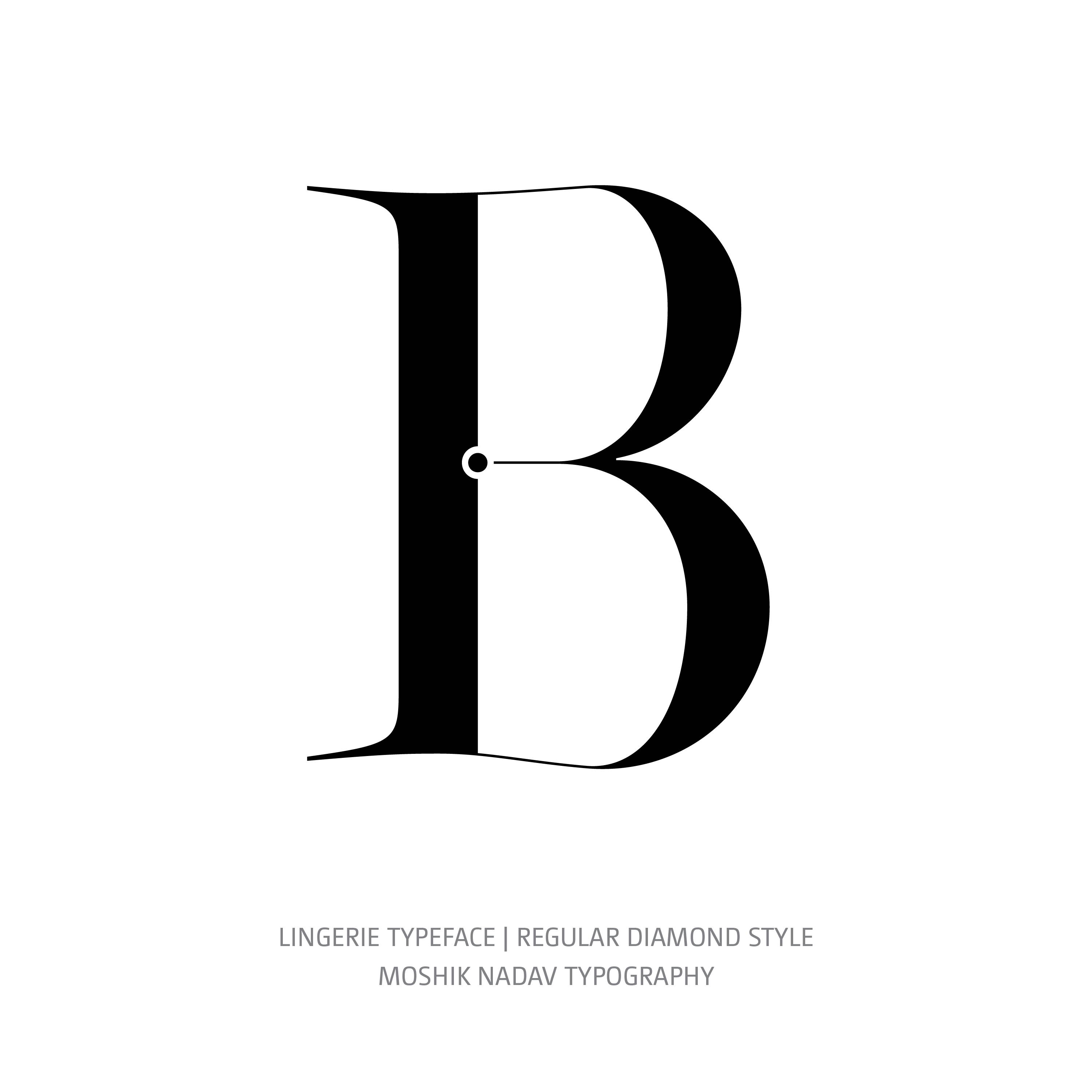 Lingerie Typeface Regular Diamond B