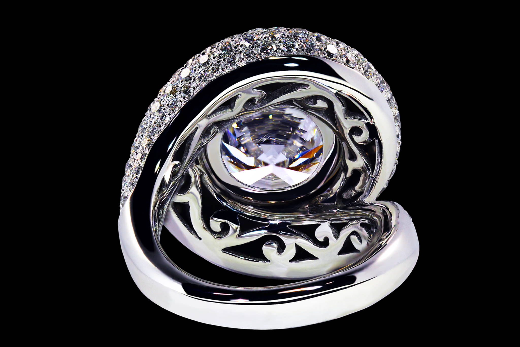 Whirlpool Ring back view