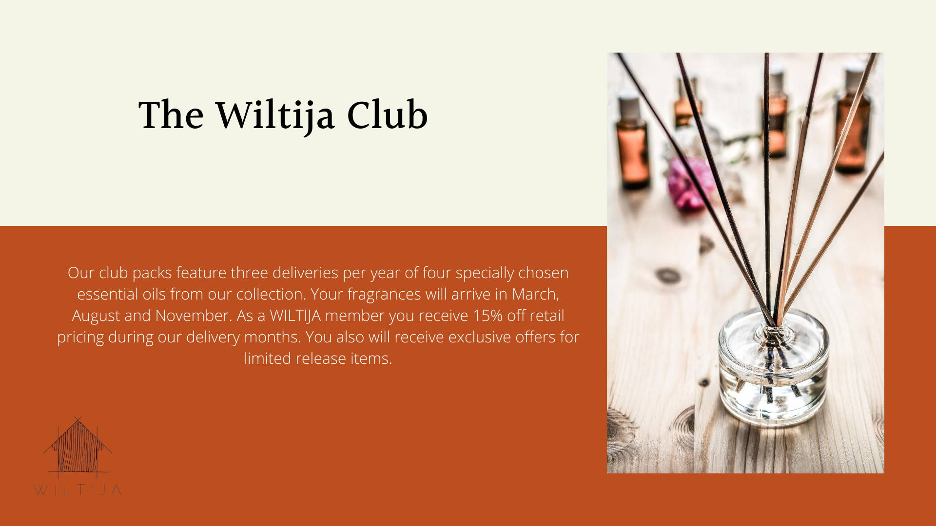 Wiltija Essential Oils Club intro