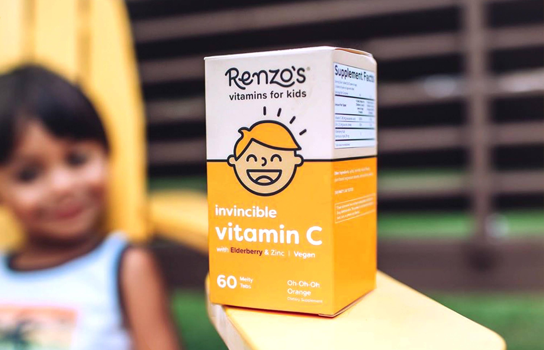 Renzos Invincible Vitamin C box