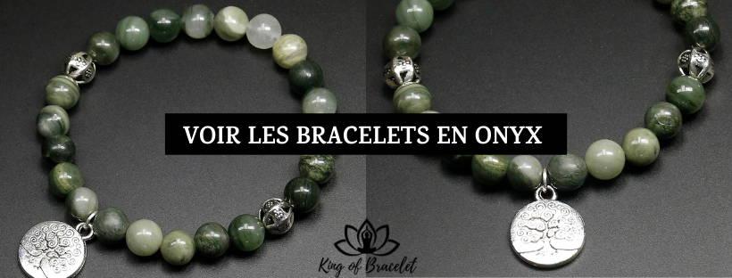 Bracelet Onyx Vert - King of Bracelet