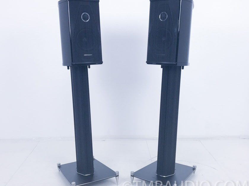 Sonus Faber Olympica I Speakers w/ Stands; Pair; Piano Black (2787)