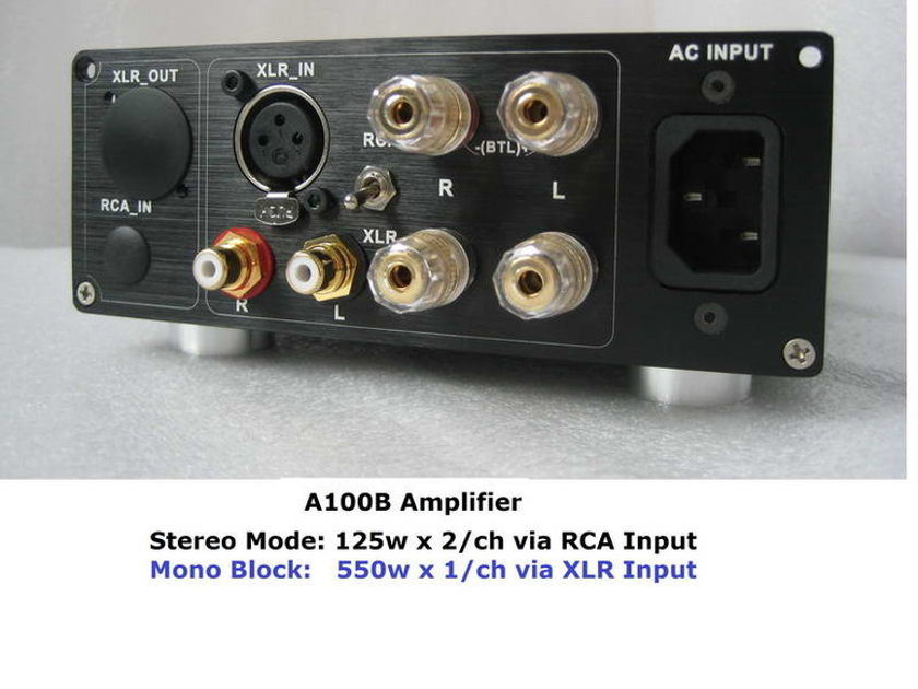 B&O ICEpower 125ASX2 & --- A100B Mono block 550w & SE Amplifier