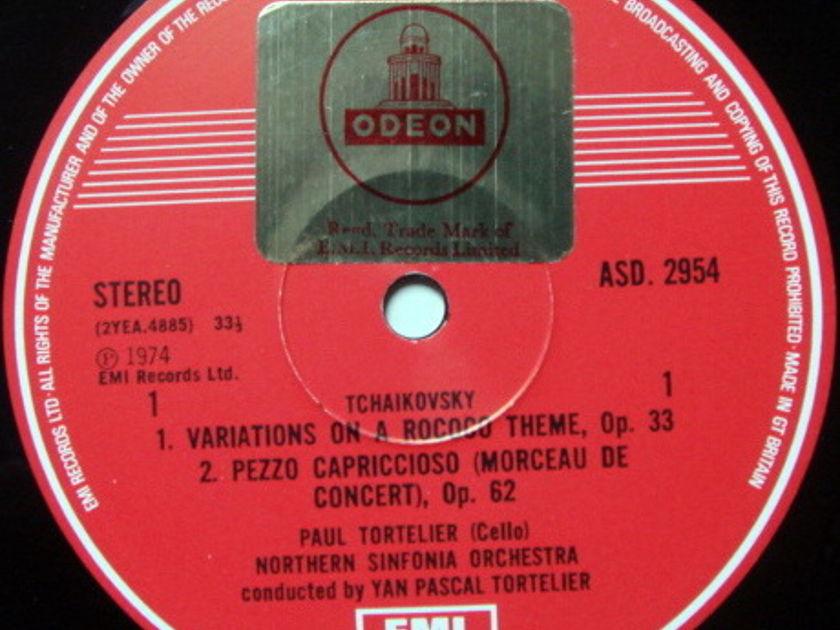 EMI ASD STAMP-DOG / TORTELIER, - Tchaikovsky Rococo Variations, NM!