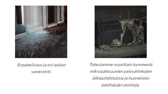 Optimasiivous, Optima-Vahinkopalvelu, Optima-Saneerauspalvelu Tampere, Tampere