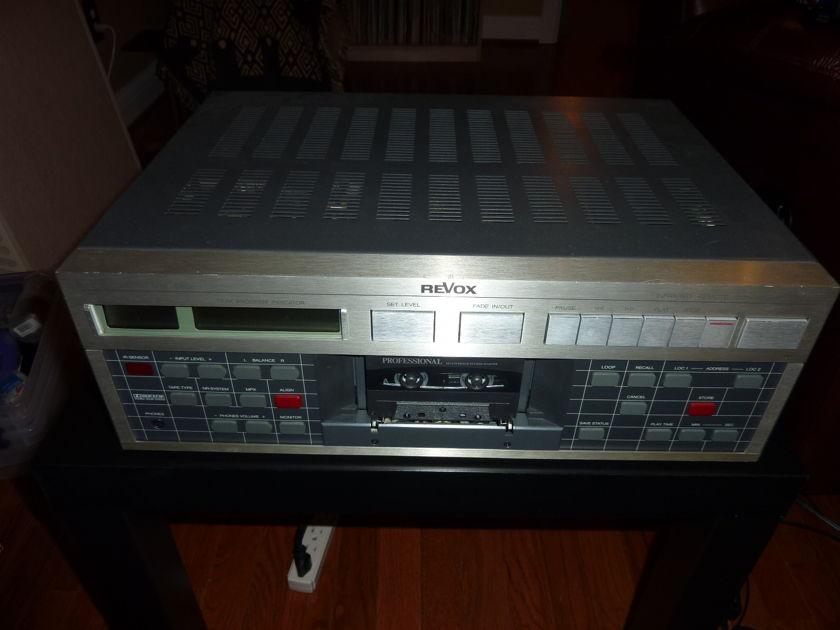 REVOX B215 Cassette Deck
