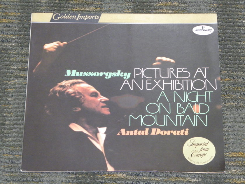 "Antal Dorati/London Symphony Orchestra - Mussorgsky ""Pictures At An Exhibition""+ more Mercury Golden Imports SRI-75025"