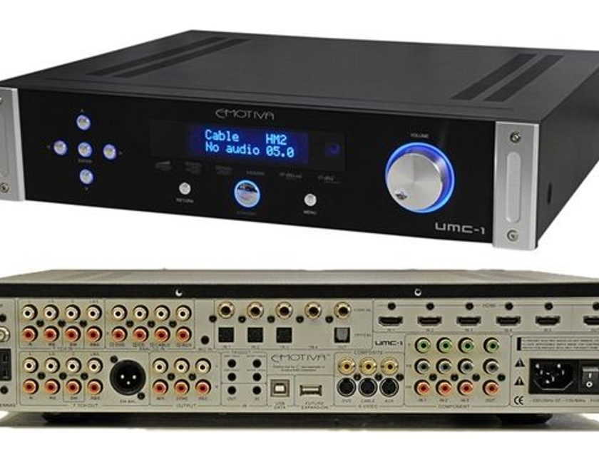 Emotiva UMC-1 EXCELLENT 7.1 PREAMP PROCESSOR