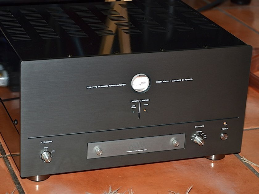 Air Tight ATM-3  Tube Monoblock Amplifiers