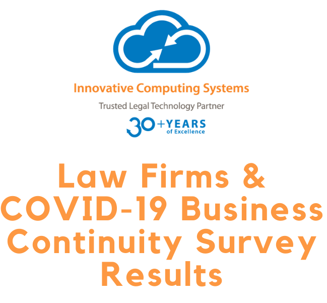 Law Firm Business Continuity & COVID-19: Results from Our Survey