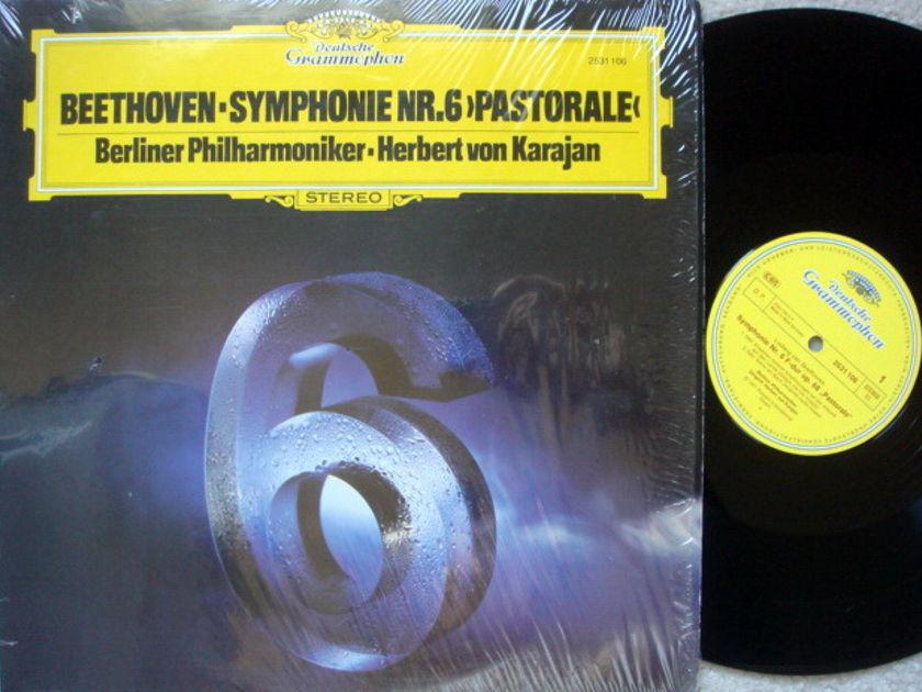 DG / Beethoven Symphony No.6 Pastorale, - KARAJAN/BPO, MINT!