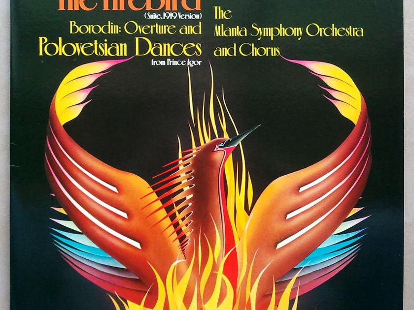 Telarc/Robert Shaw/Stravinsky The Firebird, - Borodin: Overture Polovetsian Dances / NM