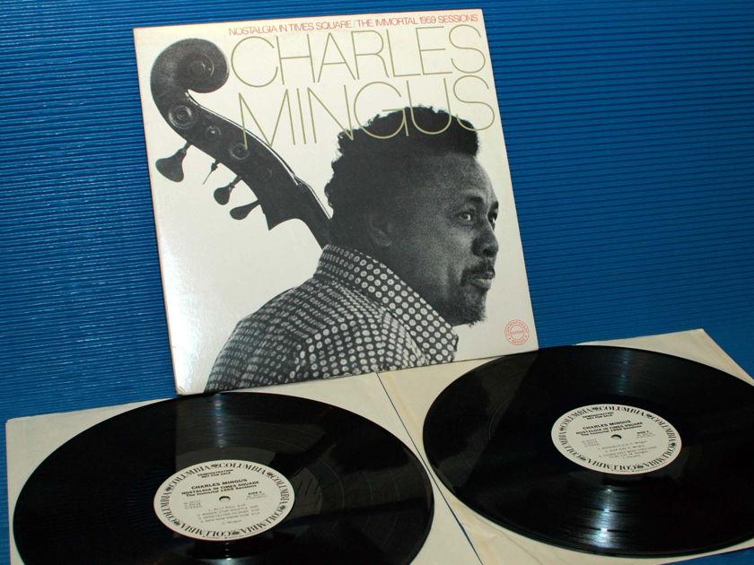 "CHARLES MINGUS - - ""Nostalgia In Times Square"" -  CBS 'WLP' w/DJ timing sheet"