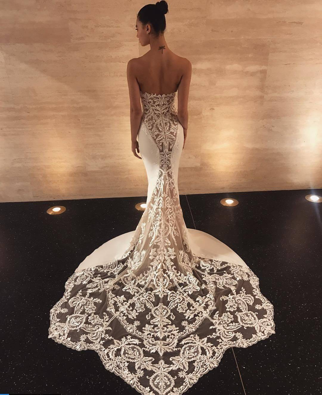 ENZOANI LAINEY WEDDING DRESS