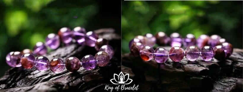 Bracelet en Cacoxénite - King of Bracelet
