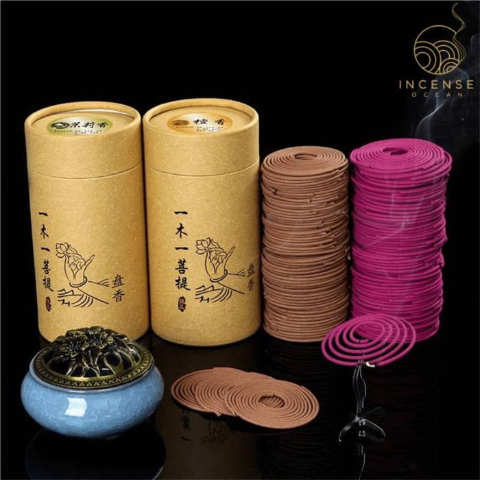 Natural Sandalwood Incense Coils