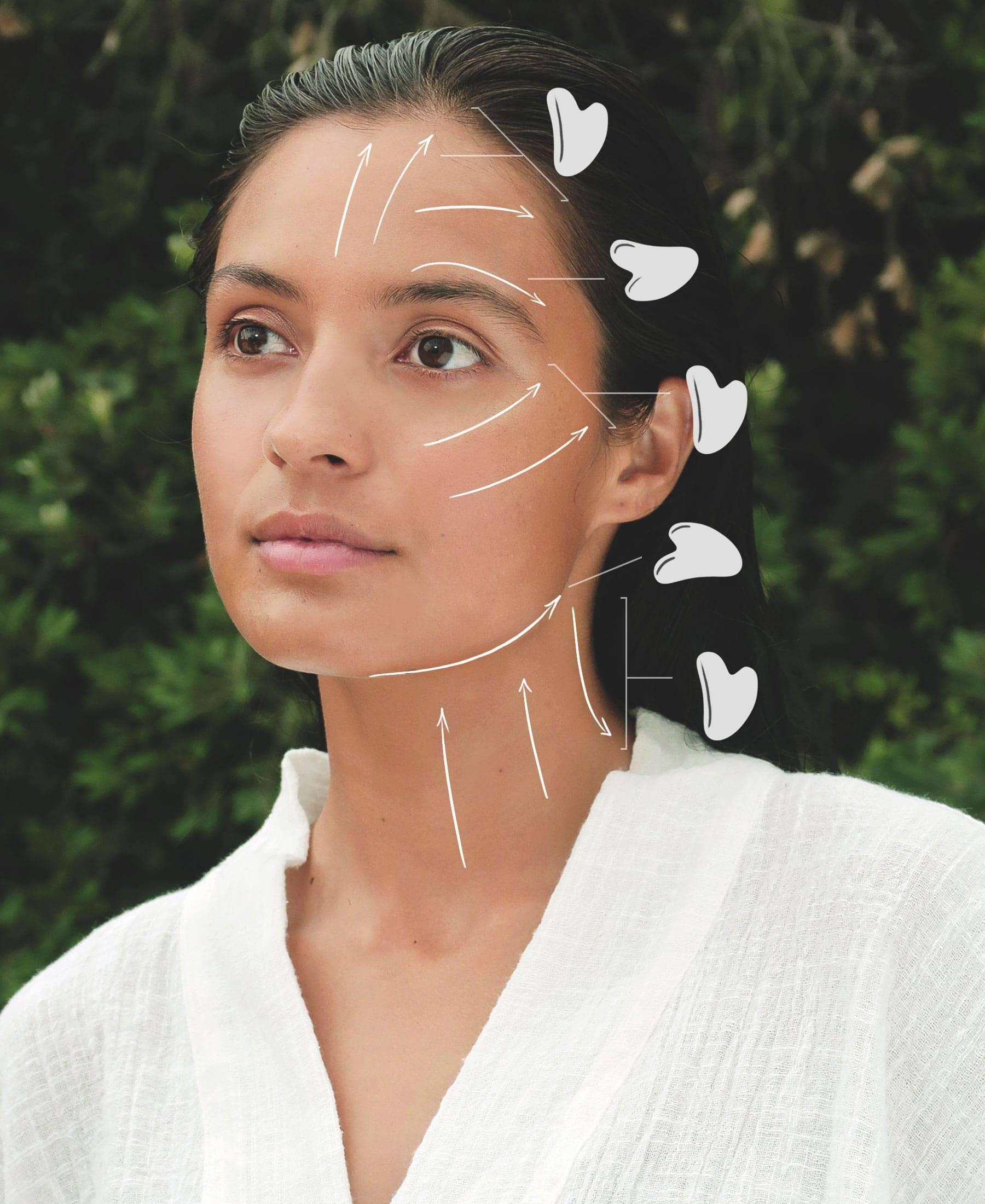 How To Gua Sha - Skincare Facial Treatment