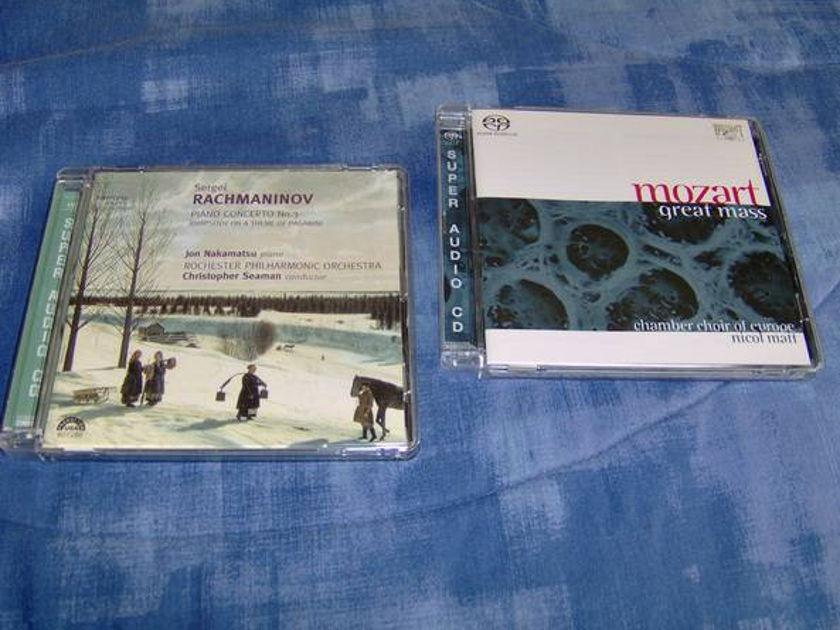 Mozart-Great Mass - Rachmaninov  Piano concerto  3 hybrid sacd free s