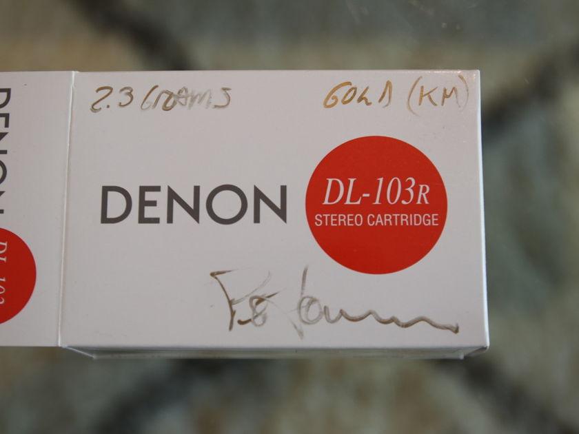 Denon DL-103R - Soundsmith Modded - Highest Gold Level - Absolute Mint