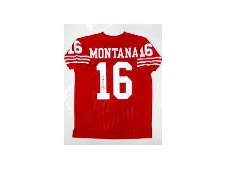 Autographed Joe Montana Jersey