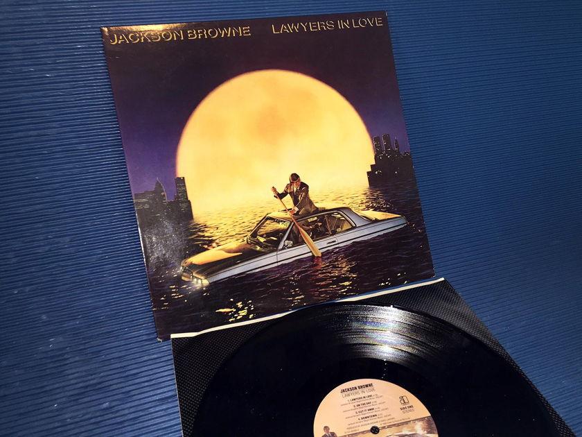 "JACKSON BROWNE - ""Lawyers In Love"" -  Asylum 1983 1st pressing"
