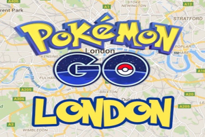 Pokemon GO Fishing Trip on The river Thames