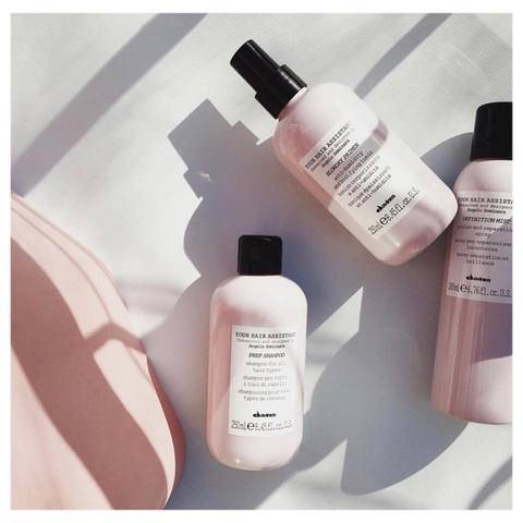 Davines Your Hair Assistant products on a white background