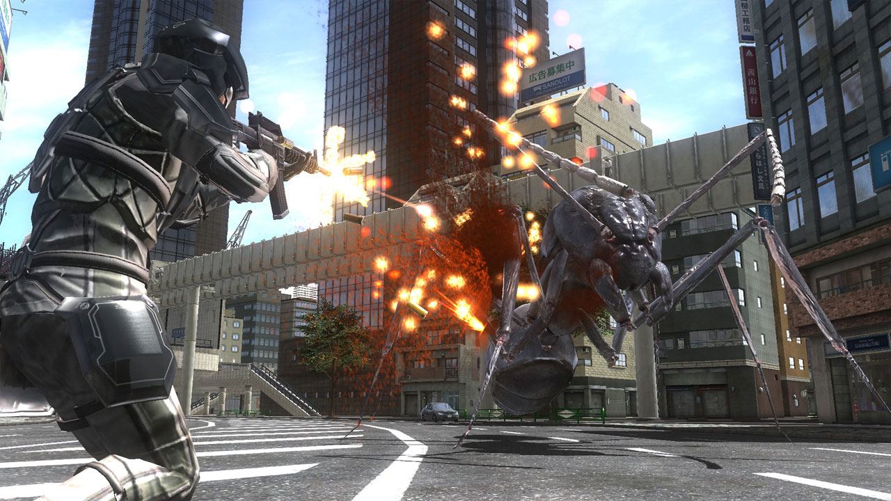Earth Defense Force 4 1: The Shadow of New Despair - What