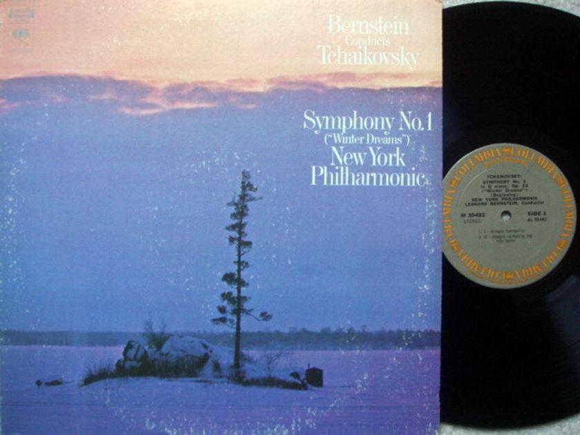Columbia / LEONARD BERNSTEIN, - Tchaikovsky Symphony No.1 Winter Dream,  NM!