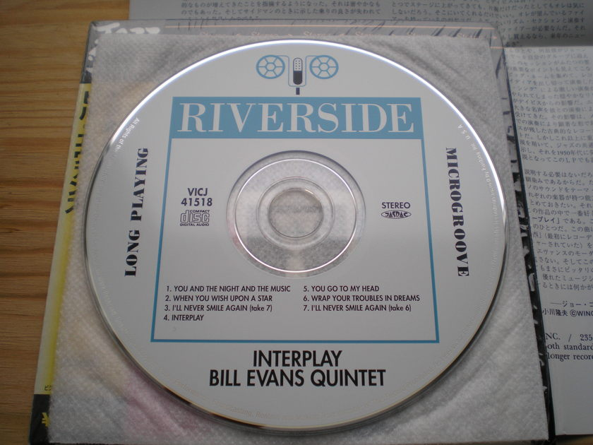 Bill Evans - Interplay mini-lp