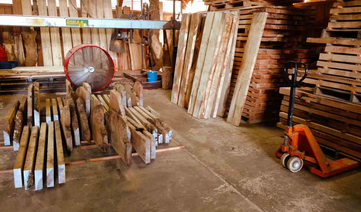 High West Wood Shop Drying Specialty woods