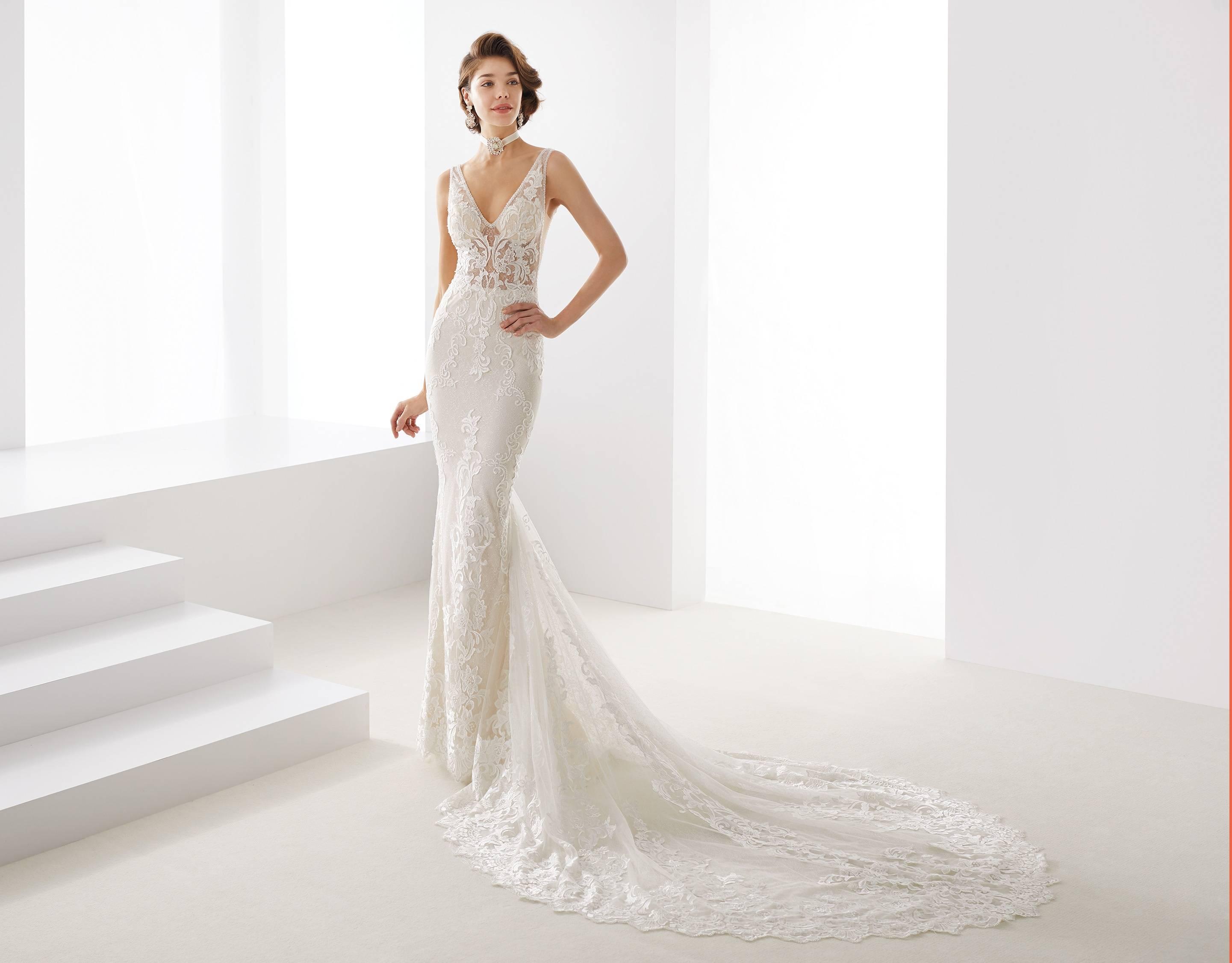 JOAB19407 NICOLE MILANO WEDDING DRESS
