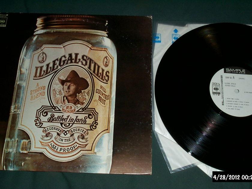Stephen Stills - Illegal Stills cbs sony japan promo lp nm