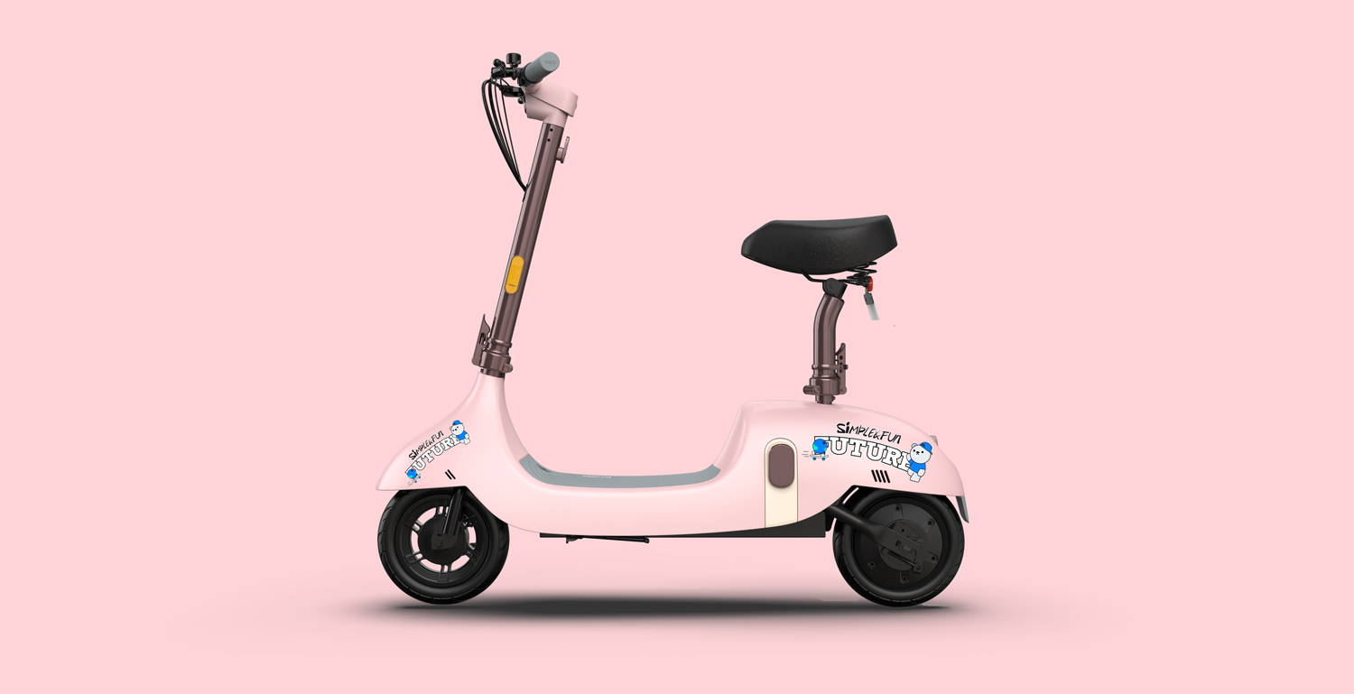 okai ea10 electric scooter decals stickers personalised