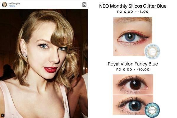 Taylor Swift's Blue Eyes