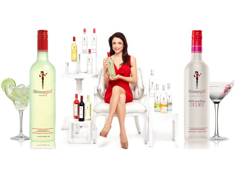 More than Just a Drink!  A Basket Full of Skinnygirl