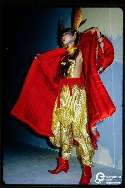 Kansai Yamamoto women's ready-to-wear collection autumn-winter 1980