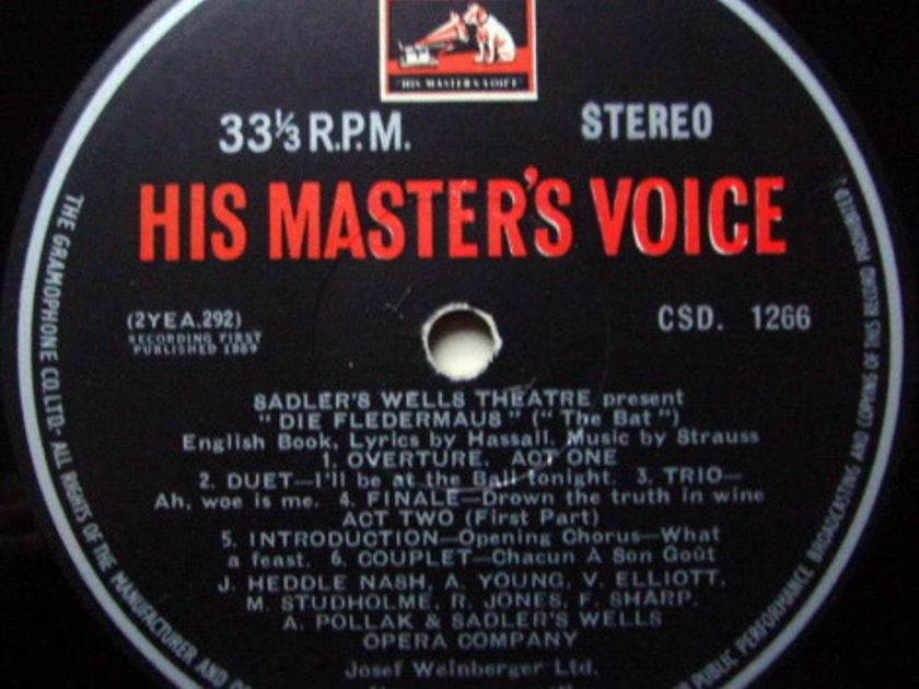 EMI HMV CSD / TAUSKY, - Strauss Die Fledermaus, NM-!