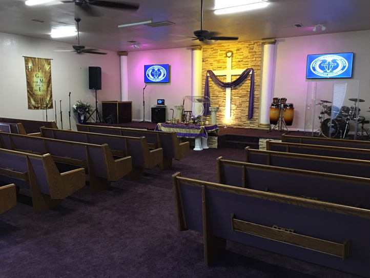 Church Sanctuary For Rent Sunday Morning Available and During Weekdays