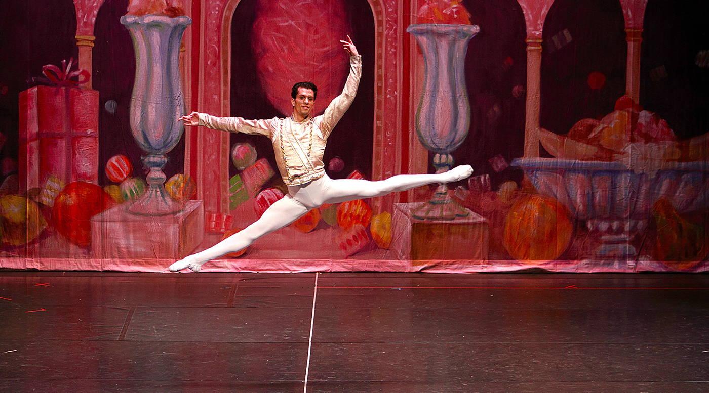 dylan gutierrez, principal dancer with Joffrey Ballet