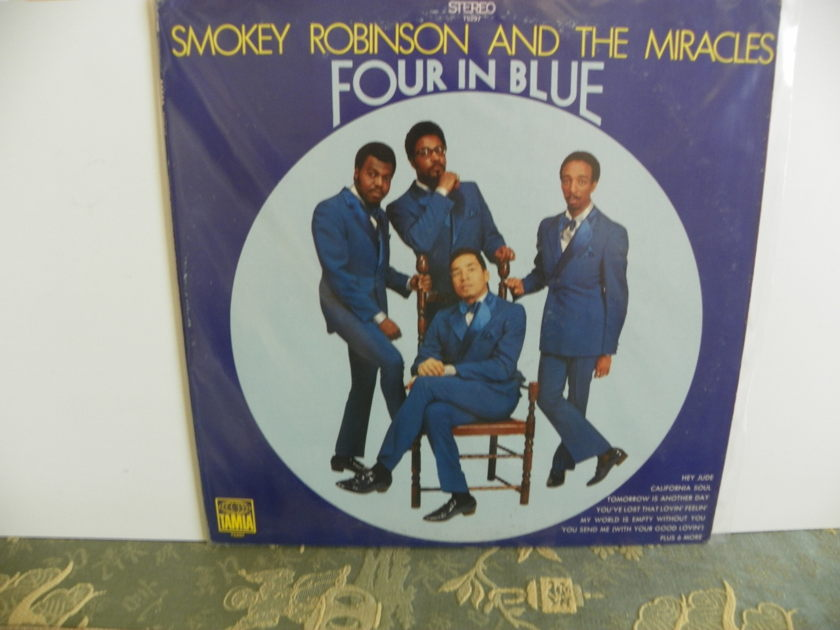 SMOKEY ROBINSON AND THE MIRACLES - FOUR IN BLUE