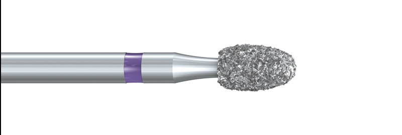 379XC Deep Purple™ Egg Diamond Preparation Bur