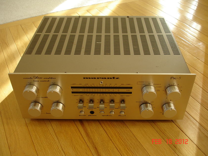 Marantz PM-5/ST-7 Esotec Integrated and Tuner package